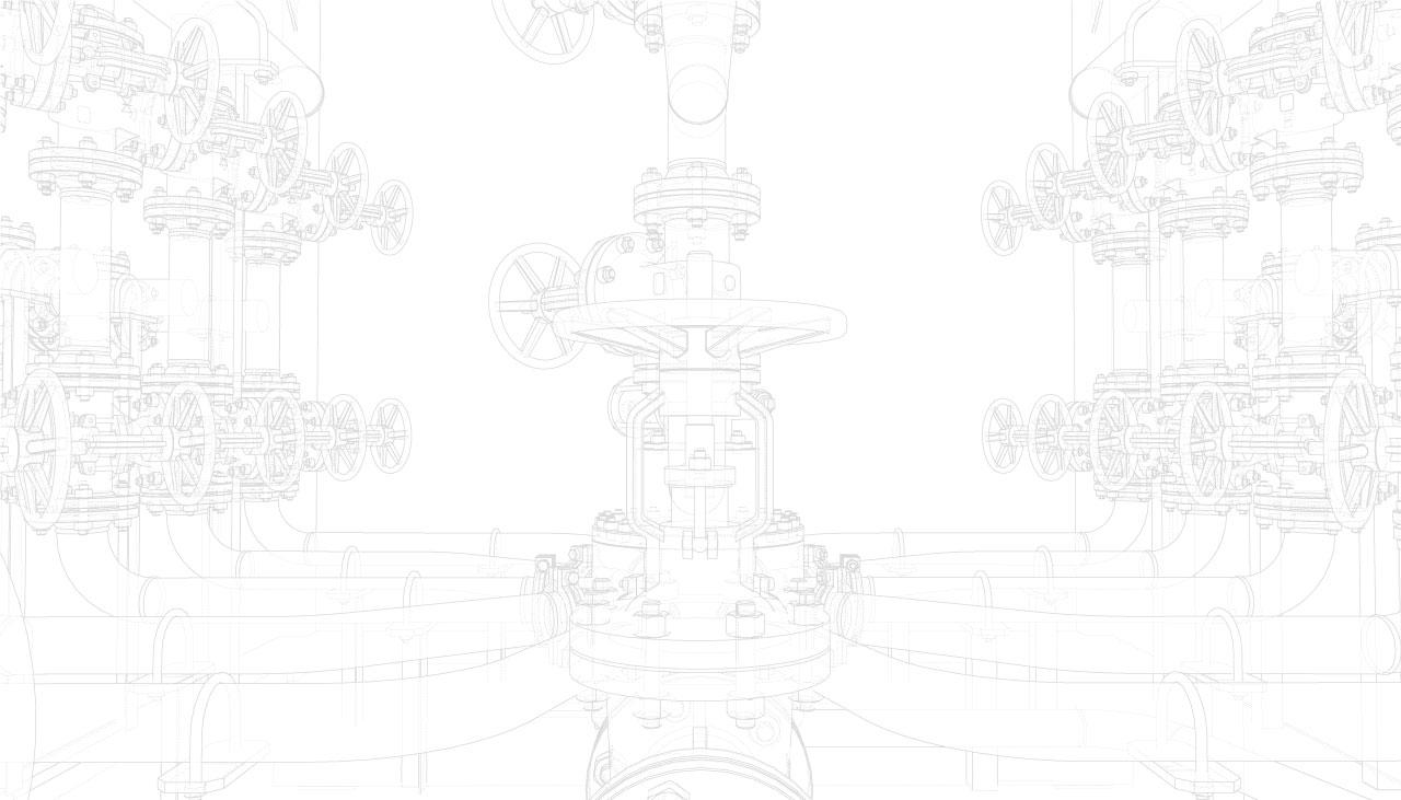 MMI Matéo Maintenance Industrielle : filigrane tuyauterie et vannes